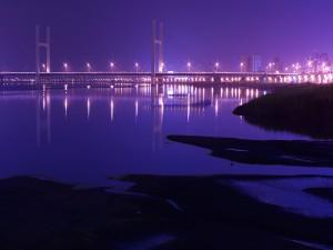 Luces en el puente