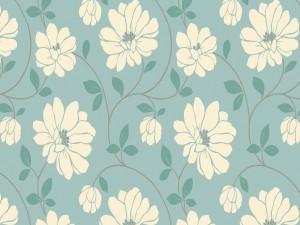Textura con flores blancas