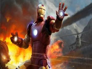 Iron Man en la lucha