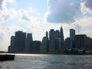 Día nuboso sobre la ciudad