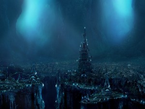 Gran ciudad bajo el mar