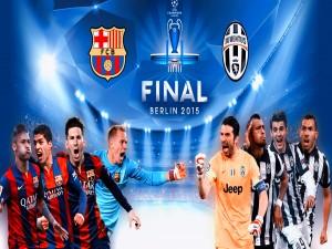 Barcelona contra Juventus en la final de la Champions League (Berlín 2015)