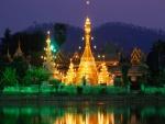 Templo iluminado