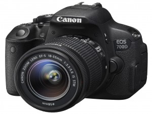 Cámara Canon EOS 700D