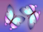 Mariposas resplandecientes