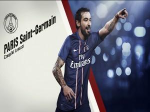 Ezequiel Lavezzi, delantero en el París Saint-Germain