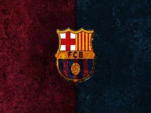 Escudo azulgrana del F. C. Barcelona