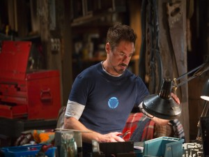 "Tony Stark en ""Iron Man 3"""