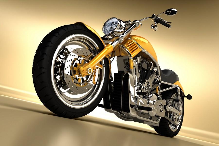 Una bonita Harley-Davidson