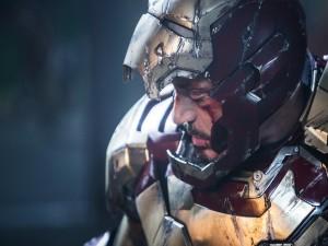 "Tony Stark tras una pelea ""Iron Man 3"""