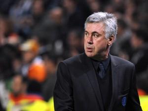 El entrenador Carlo Ancelotti