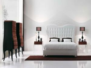Un elegante dormitorio