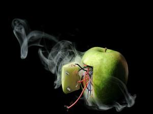 Manzana electrónica