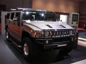 Silver Hummer H2