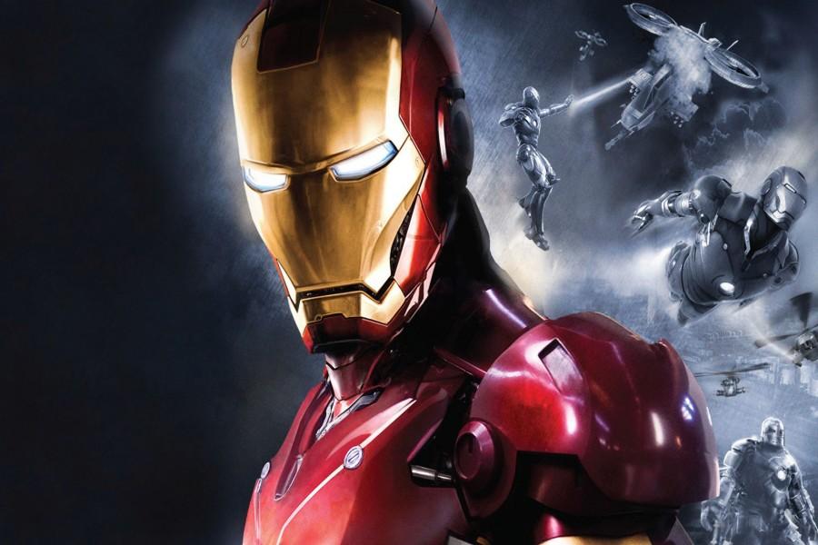 El héroe Iron Man