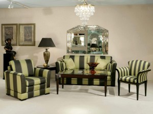 Un elegante salón