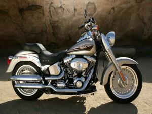 Una Harley-Davidson
