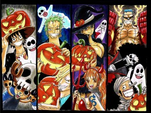 One Piece en Halloween