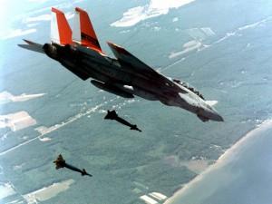 F-14 en el aire