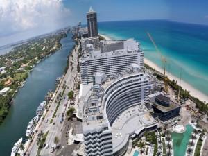 Vista parcial de la ciudad de Miami