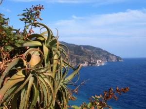 Vista de Corniglia, Cinque Terre (Italia)