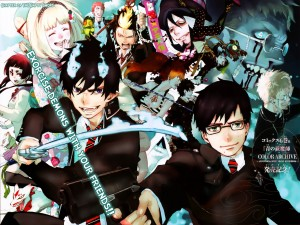 "Personajes del anime ""Ao no Exorcist"""
