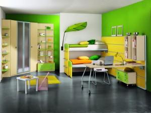 Un dormitorio juvenil