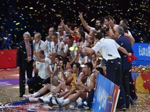 """Selección de baloncesto de España ganadora del """"EuroBasket 2015"""""""