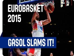 """Gasol en el """"EuroBasket 2015"""""""