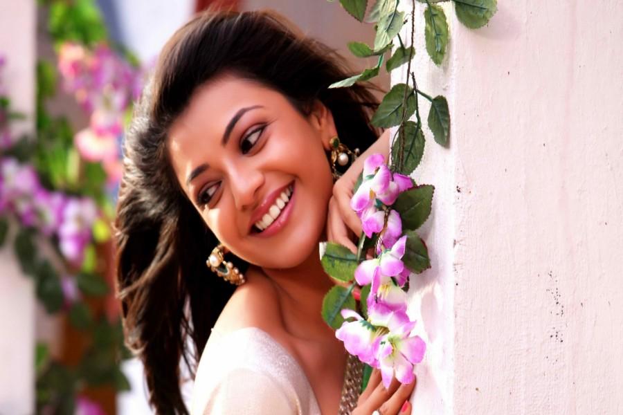 Kajal Aggarwal, actriz de cine india
