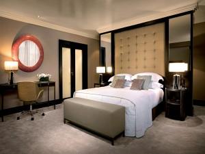 Un dormitorio moderno