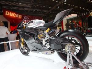 Ducati Corse en una exposición