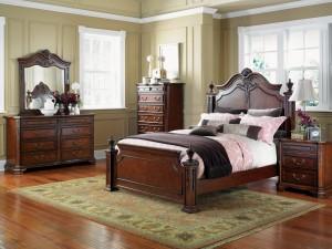 Un dormitorio clásico