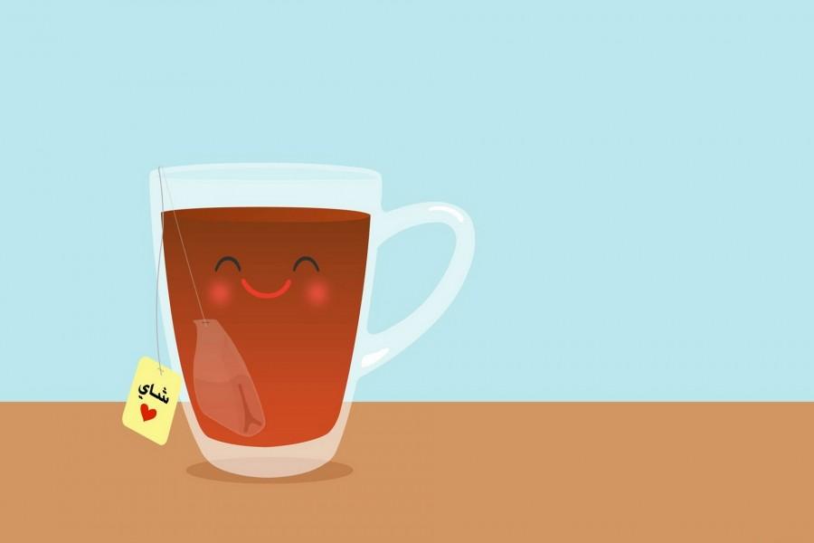 Una divertida taza de té