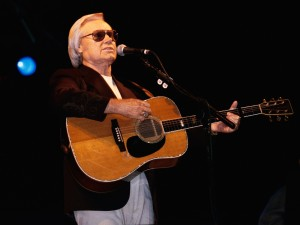 George Jones con su guitarra