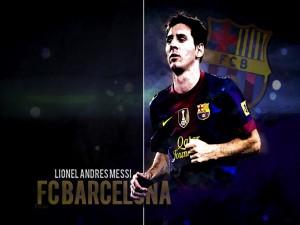 Lionel Andrés Messi, jugador del F. C. Barcelona