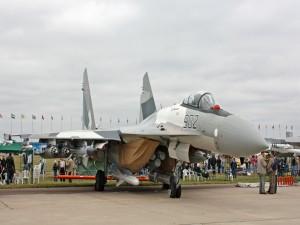 Sukhoi Su-35 en pista