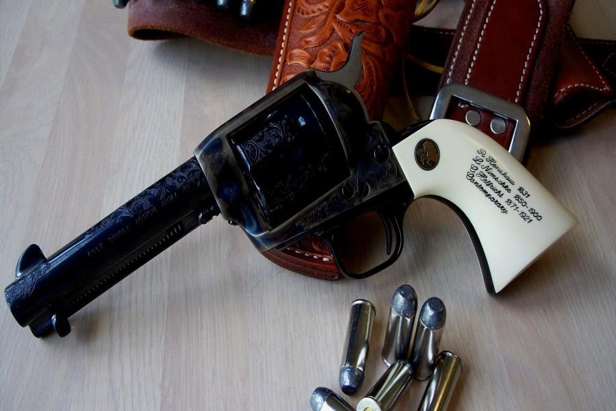 Un bonito revólver