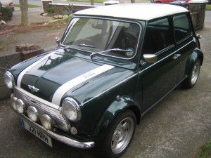 Un antiguo Mini