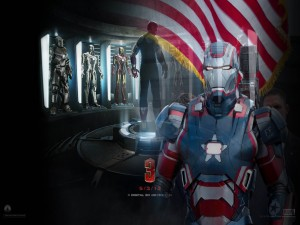 "Iron Patriot en ""Iron Man 3"""