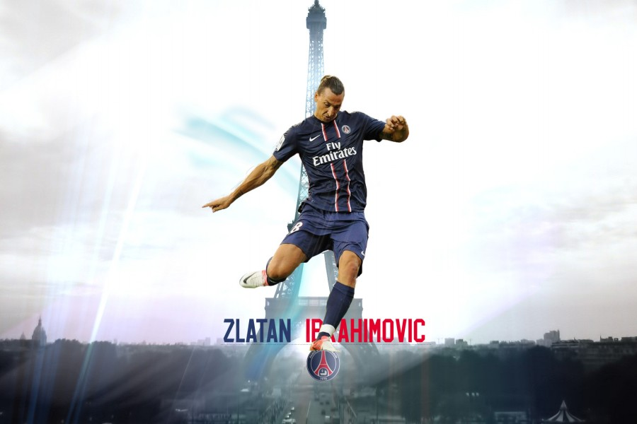 Zlatan Ibrahimović jugador del París Saint-Germain