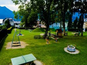 Parque infantil en Mariazell