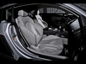 Interior de un Audi R8