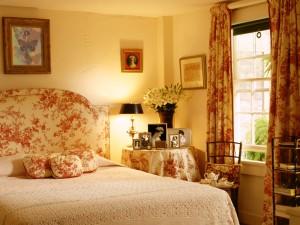 Un romántico dormitorio