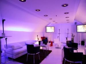 Una sala moderna