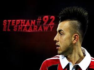 El futbolista Stephan El Shaarawy