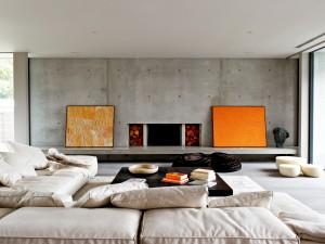 Un moderno salón