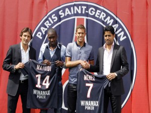 Nuevos jugadores del París Saint-Germain