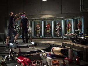 "Rodaje de ""Iron Man 3"""