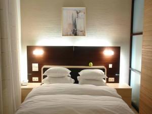 Una sencilla habitación de hotel